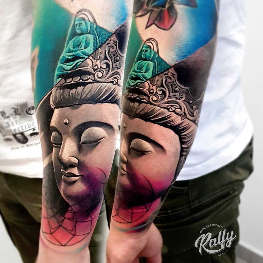 Buddha By Rafal Dabrowski Tattoo Artists Tattoos Body Art Tattoos