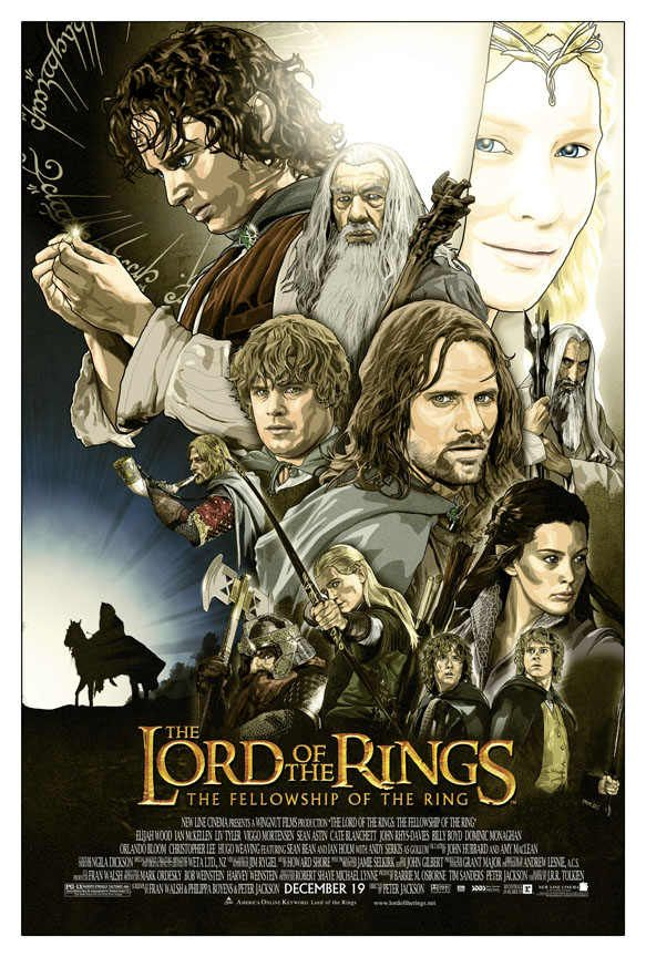 The Lord Of The Rings Poster Lord Of The Rings Movie Posters Animated Movie Posters