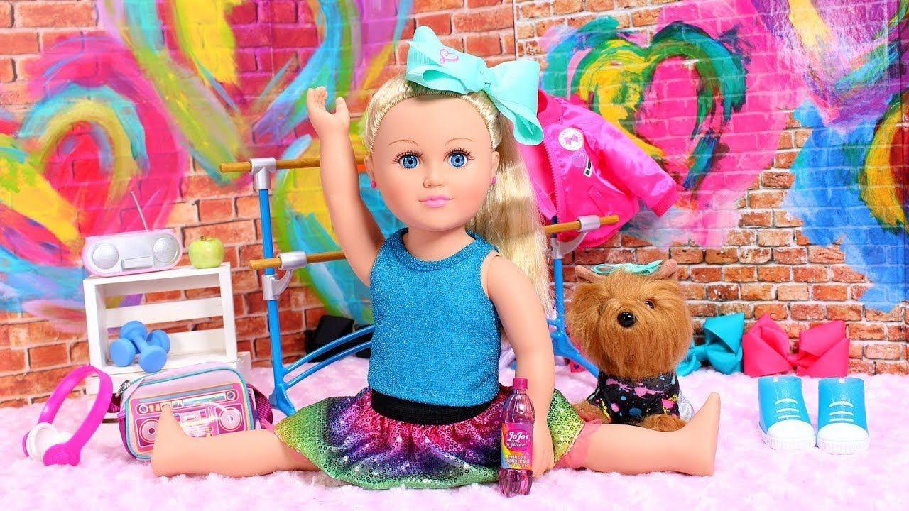 Baby Doll Dress Up With New Jojo Siwa Doll Bowbow Baby Doll