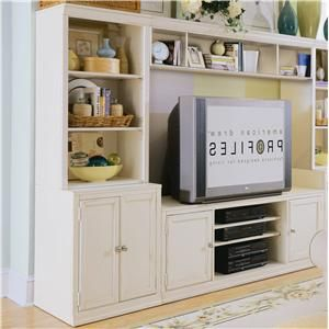 Really like the idea of a wall-sized entertainment center so it all blends in