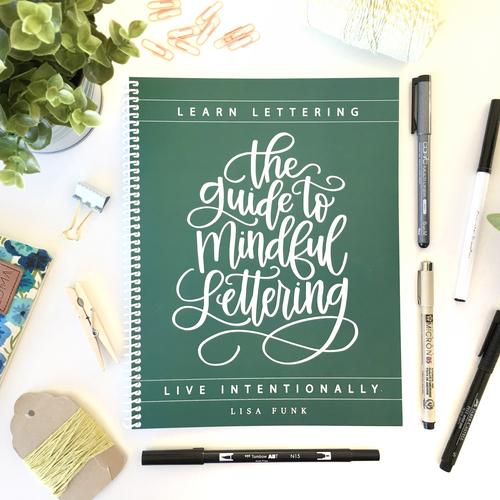 The Guide to Mindful Lettering Lettering, Lettering