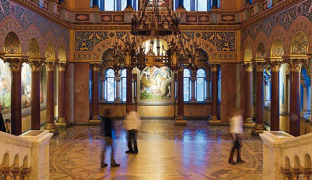 Schloss Neuschwanstein Fussen Germany Castles Interior Museum Lighting Culture Art
