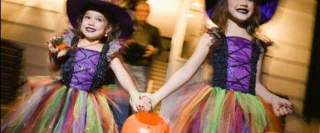 trucco strega bambina -- Costumi fai da te di Halloween per bambini ... 6a5539532b0b