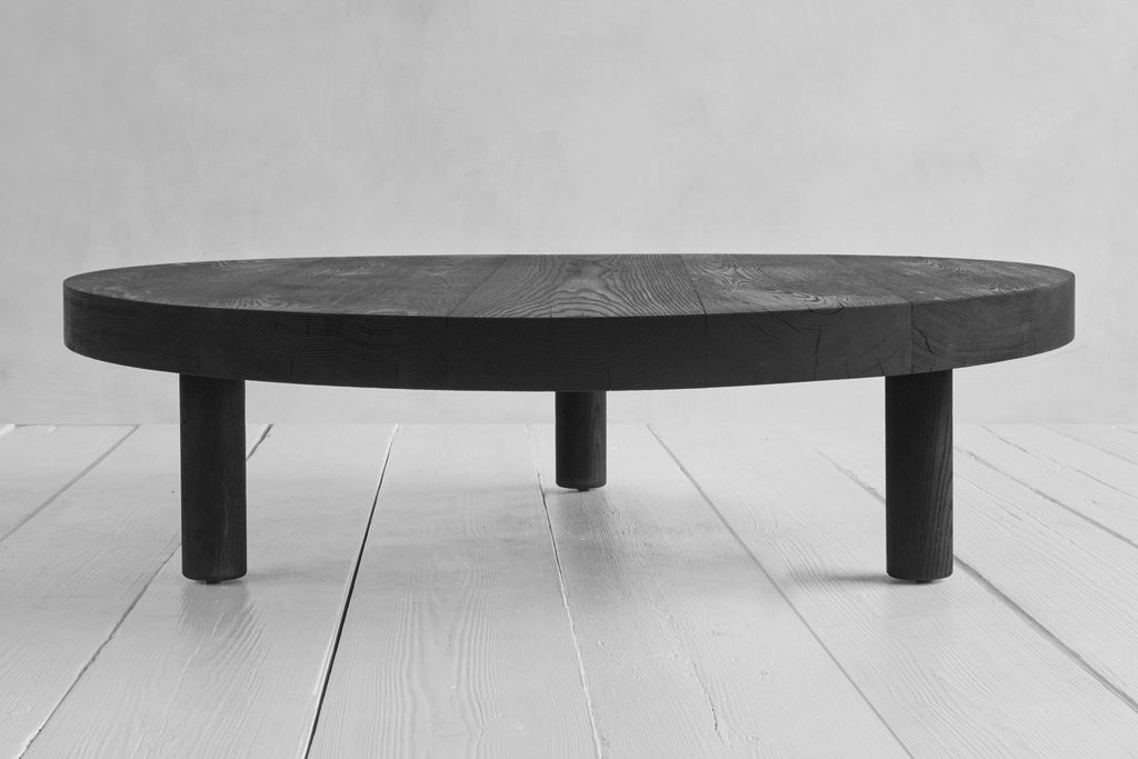 Salontafel Smoked Oak.Nickey Kehoe Round Coffee Table Meubels
