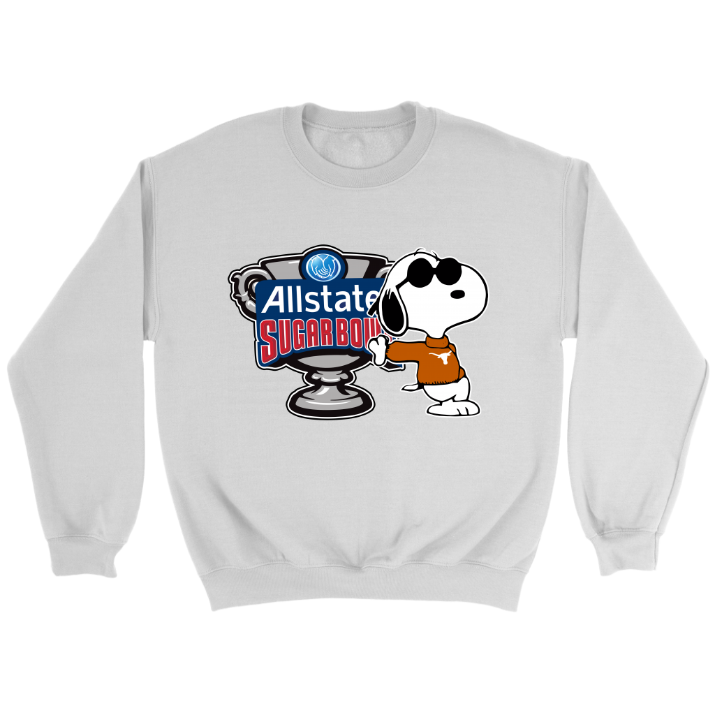 5a9bfa11 Snoopy The Peanuts Movie Texas Longhorns 2019 Allstate Sugar Bowl ...