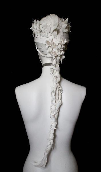 Бумажные парики от Nikki Salk и Amy Flurry - Ярмарка Мастеров - ручная работа, handmade