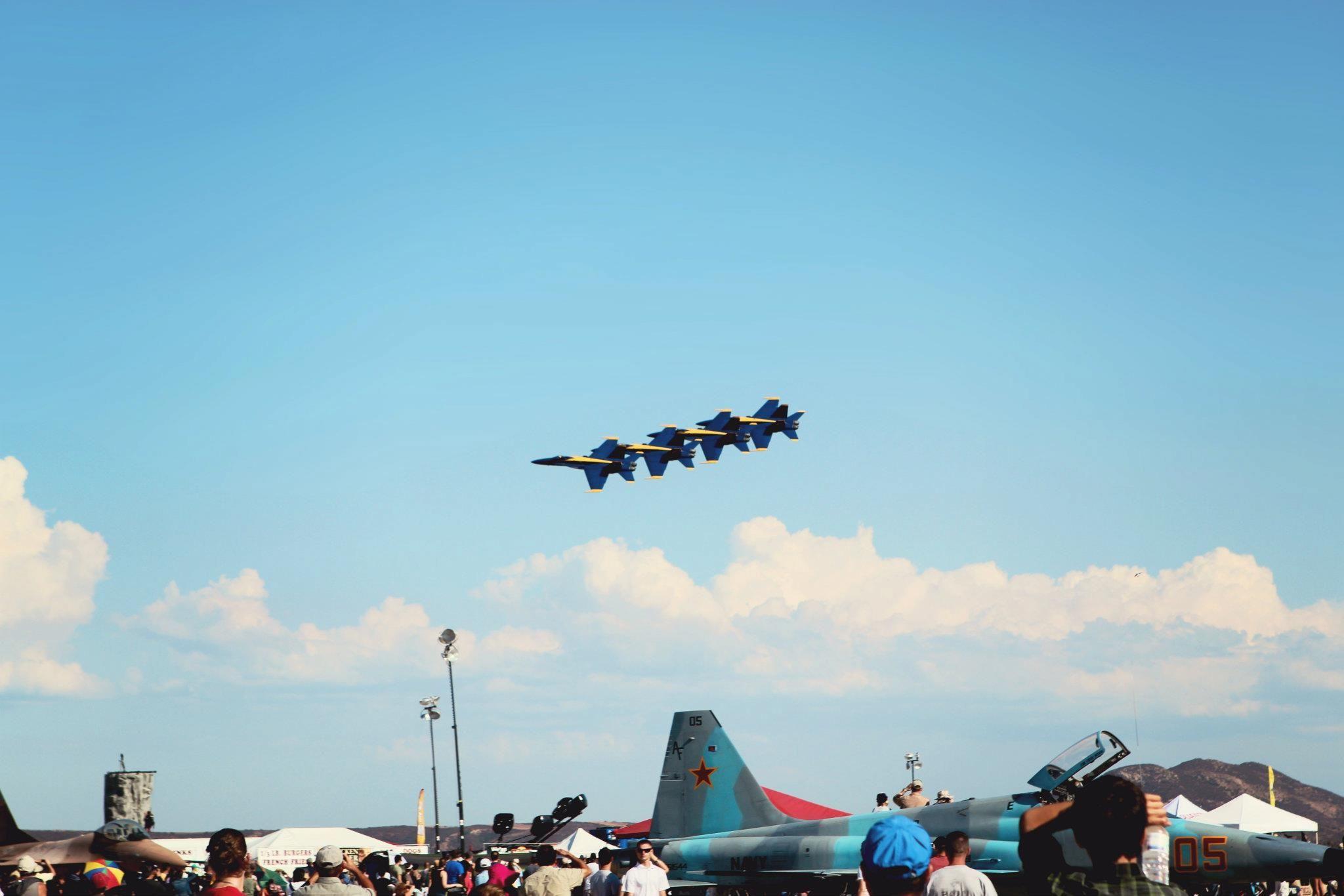 San Diego Blue Angels at Miramar Air Show Air show