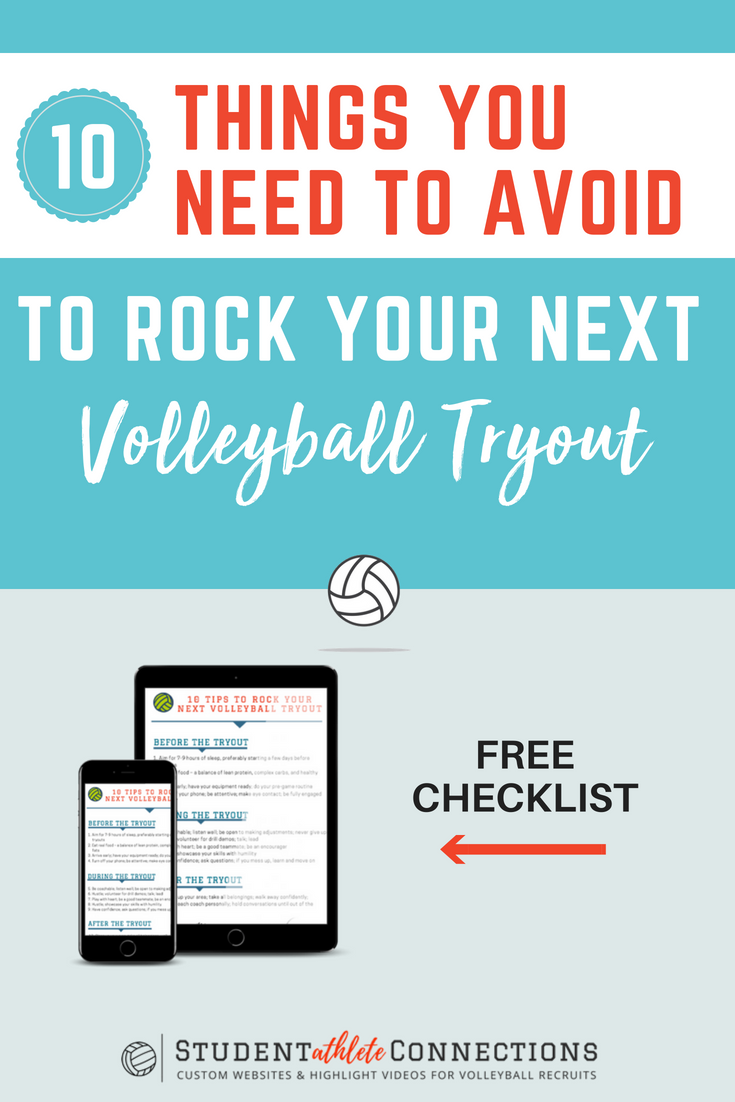 Wanna Rock Your Volleyball Tryouts Avoid Doing These Things Volleyball Tryouts Volleyball Volleyball Training