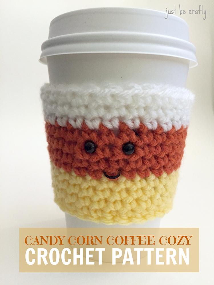 Crochet Candy Corn Cozy Pattern | Crochet | Pinterest | Tejido