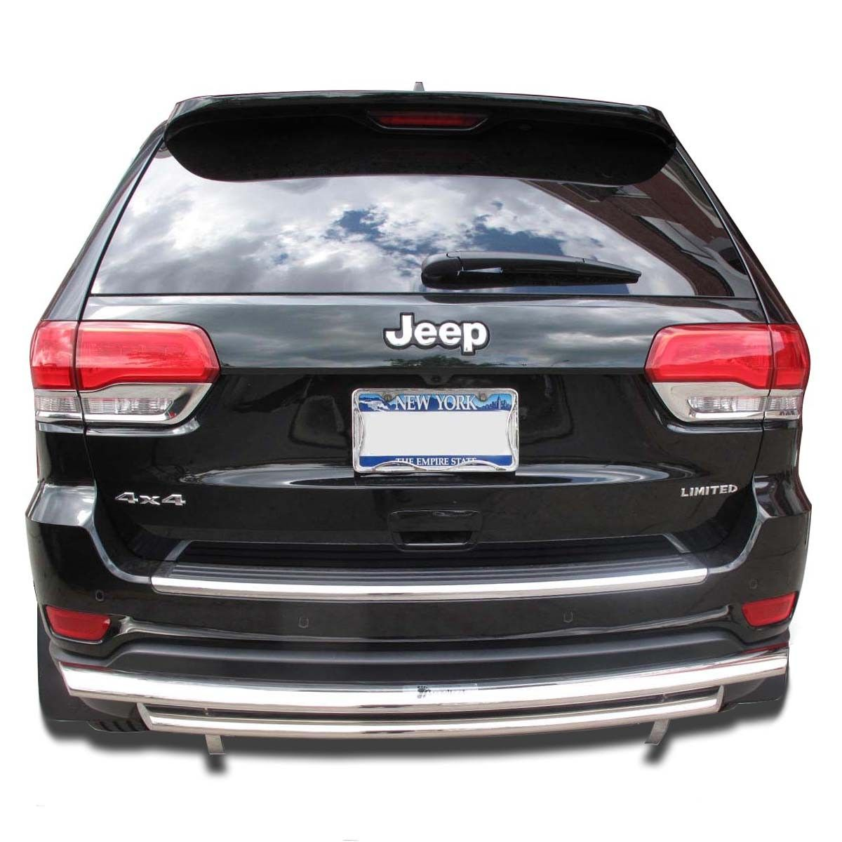 Rear Bumper Guard On Jeep Grand Cherokee Jeep Grand Cherokee Jeep Bumpers