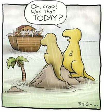How the dinosaurs really became extinct.