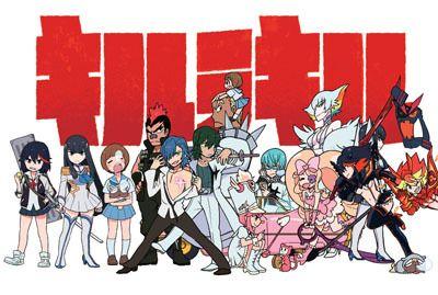 NEWS   TVアニメ『キルラキル KILL la KILL』オフィシャルサイト