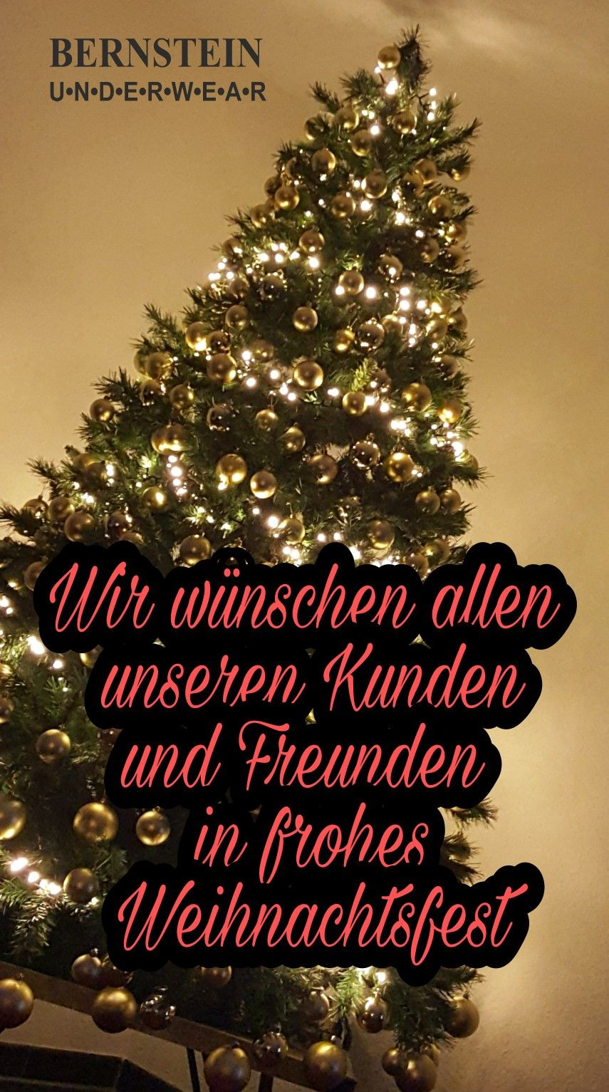 Frohe Weihnachten #bernstein_underwear #weihnachten #geschenkideen ...