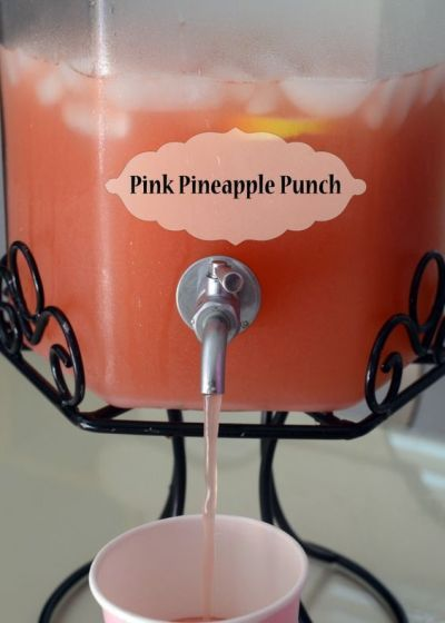 Label The Bridal Shower Punch You Are Serving For Your Guests Sake