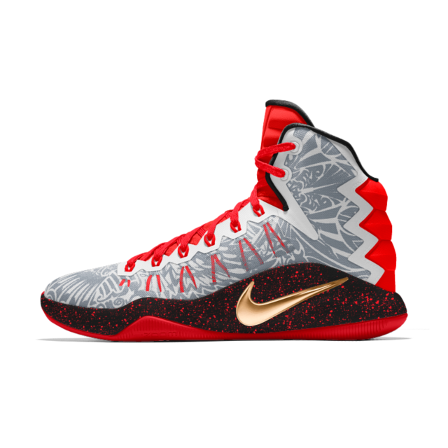 new product f0df1 f0e02 Nike Hyperdunk 2016 iD Men s Basketball Shoe