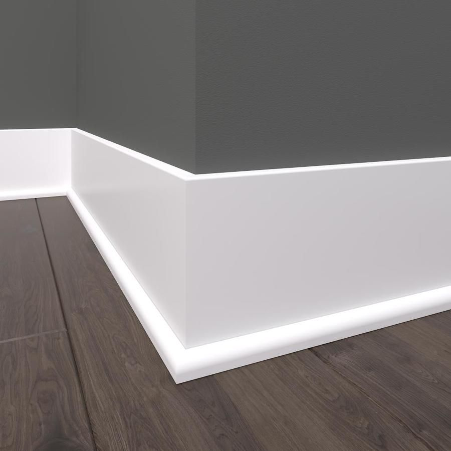 Evertrue Craftsman 11 16 In X 8 Ft Primed Shoe Moulding Lowes Com In 2020 Baseboard Styles Modern Baseboards Moldings And Trim