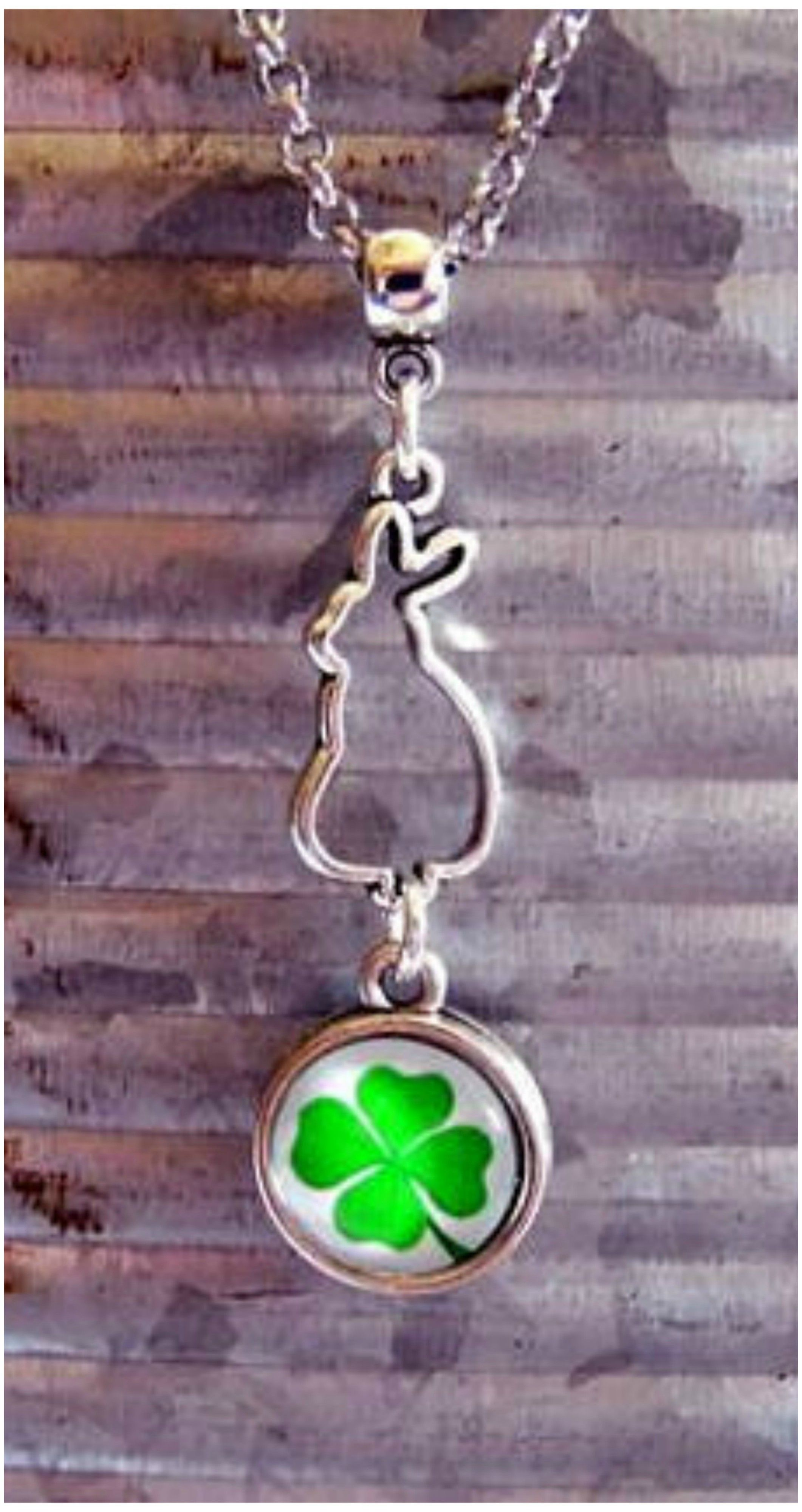 4 H Rabbit Charm Necklace A Great Way To Celebrate The 4