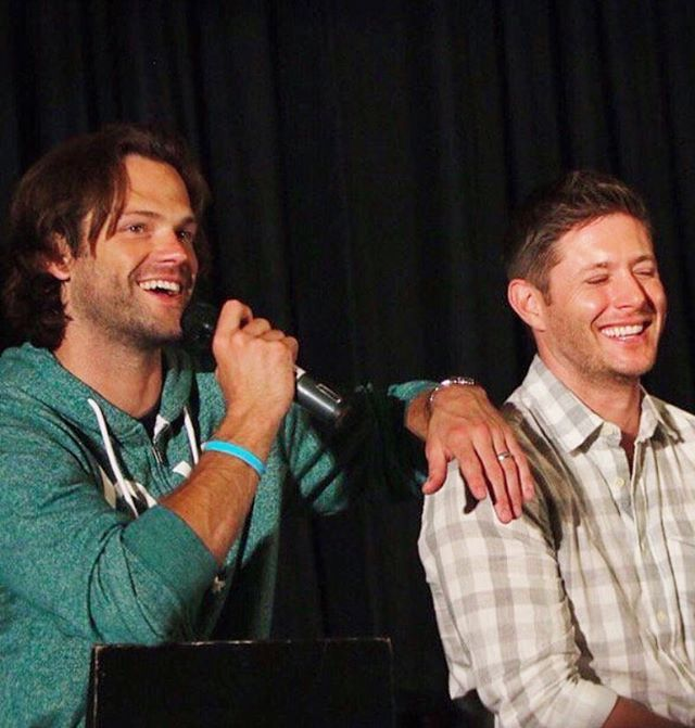 Jared and Jensen, ChiCon 2016 - ALWAYS repin ChiCon 2016 BECAUSE I WAS THERE!!!