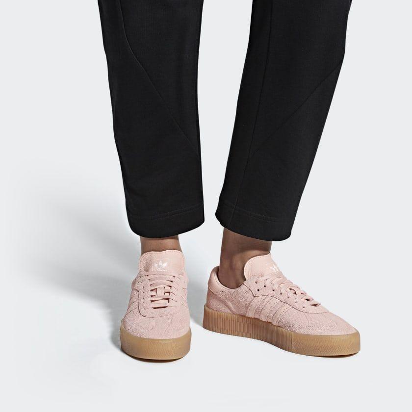 Samba Rose Shoes Pink B28164   Rose adidas, Pink adidas