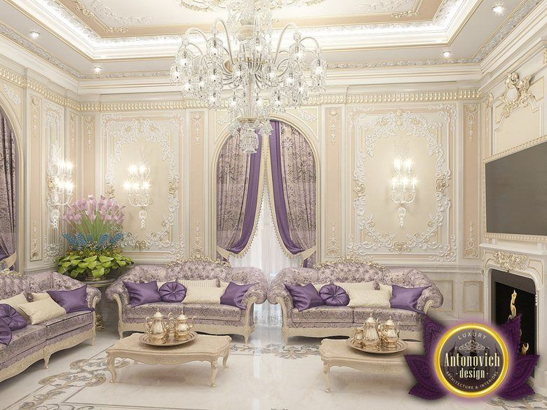 Interior Living Room Design By Katrina Antonovich