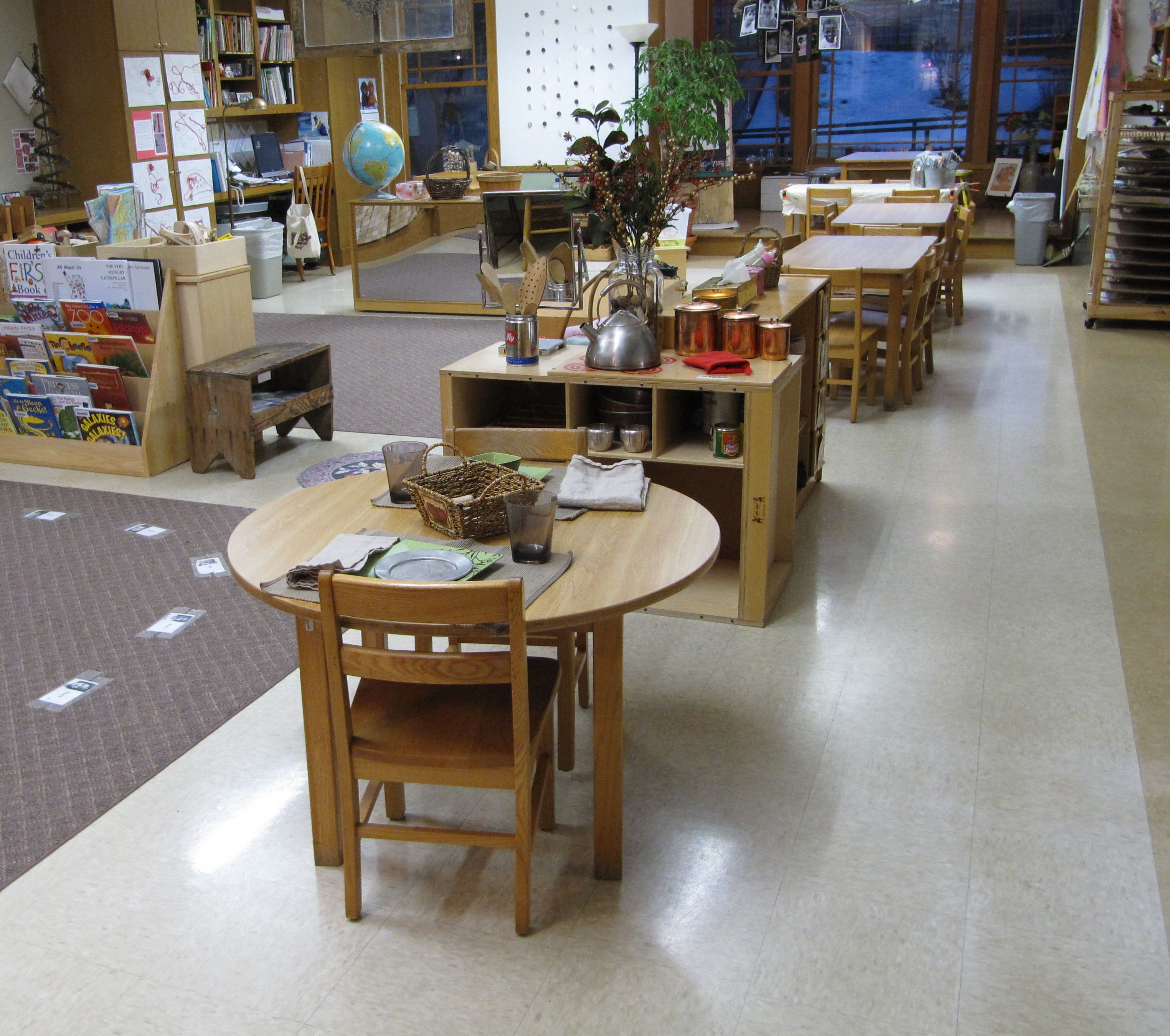 Classroom Design Overview ~ Pre k class overview daycare environment pinterest