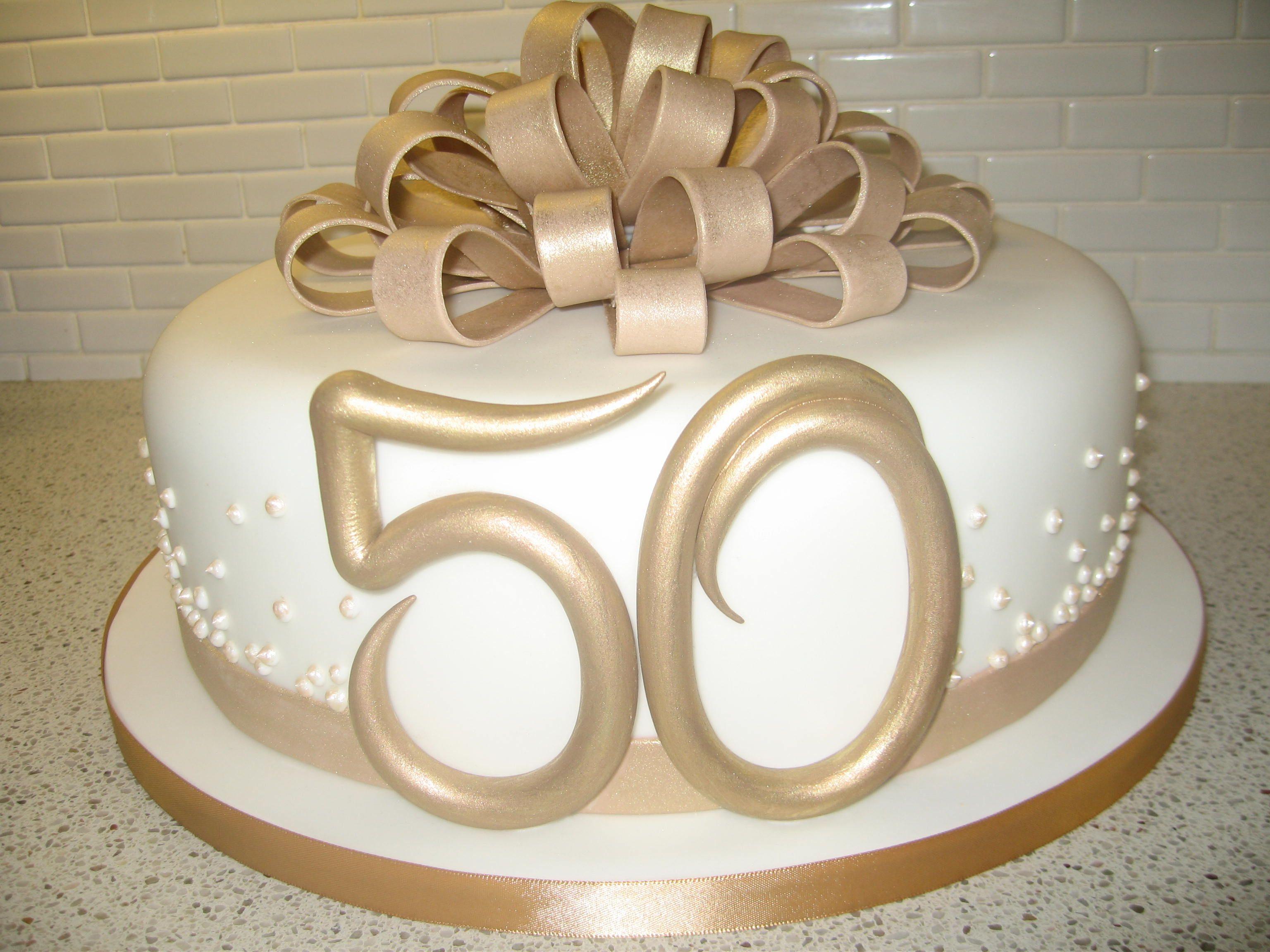 50th Wedding anniversary cake... cakes Pinterest