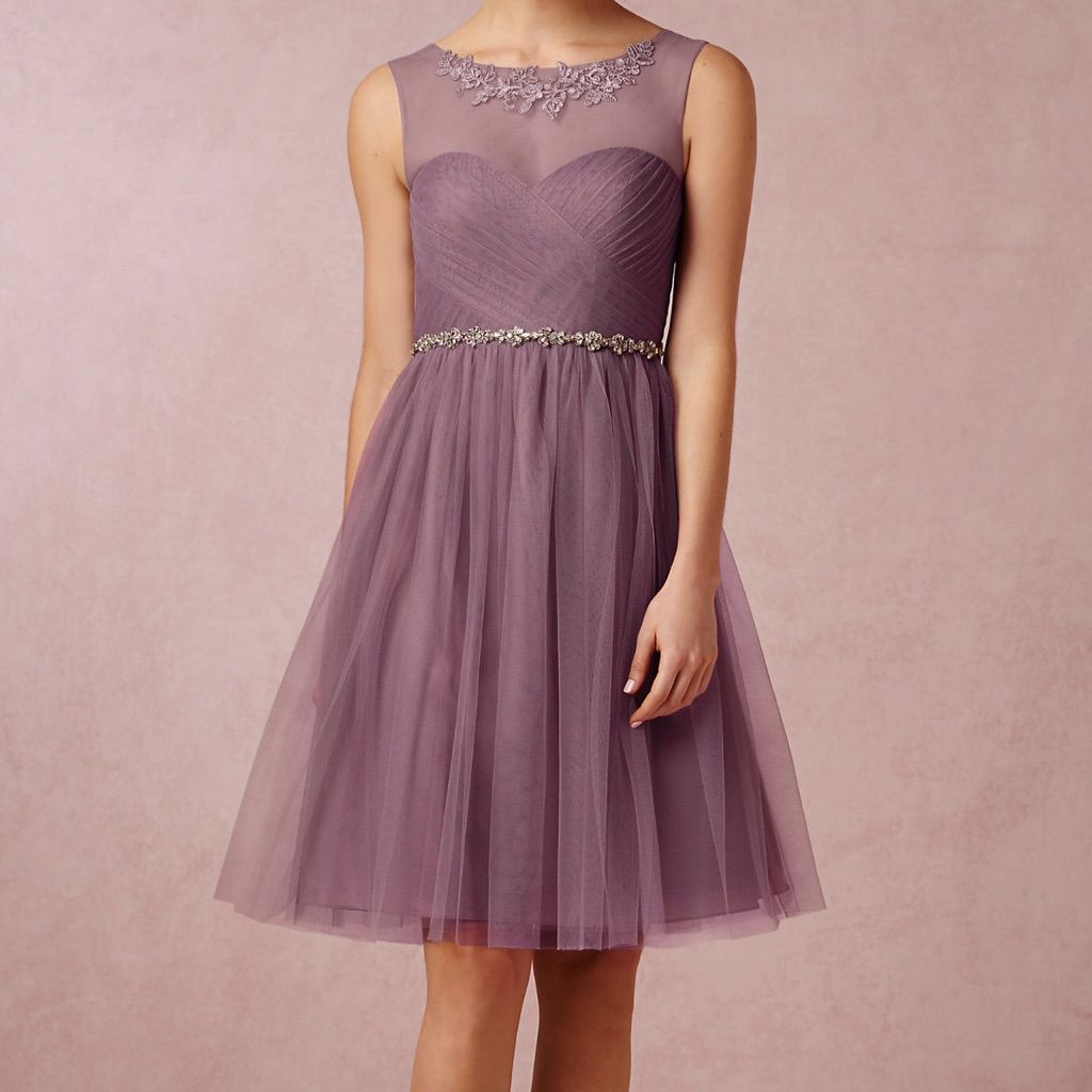Jenny Yoo Bhldn Chloe Dress - Soft Plum Size 2   Chloe dress and ...