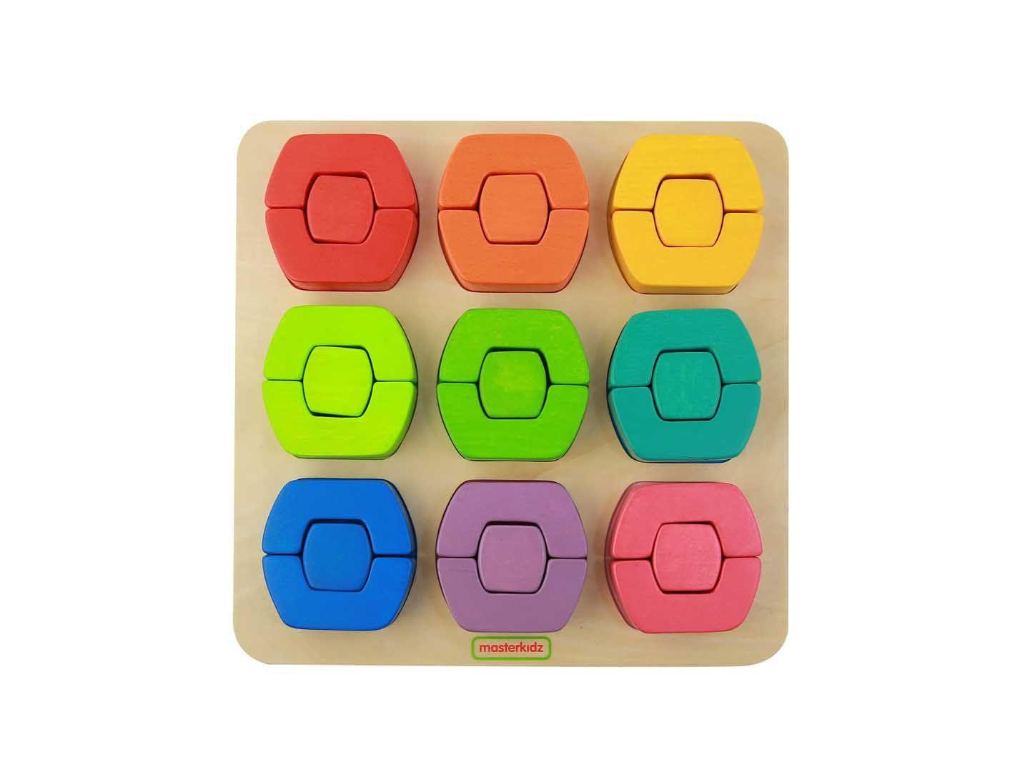 Zobacz Mega Promocje Kolorowe Klocki Dzielone Sorter Ksztaltow