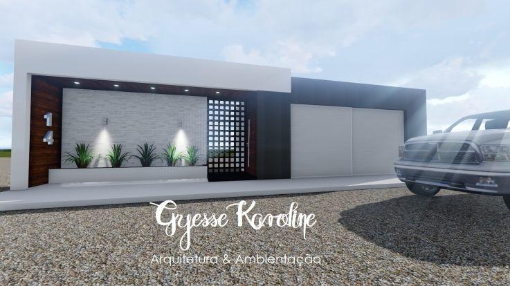 19++ Disenos de muros exteriores para casas ideas