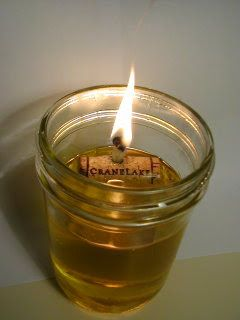 Diy Oil Lamp Self Extinguishing If Tipped Though Messy Can Also Teach About The Need For