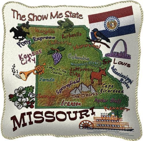 State pillow, Tapestry throw