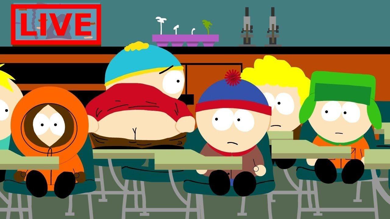 24/7 Youtube Live stream of South Park