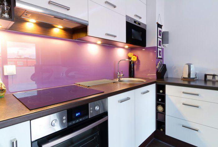 Wandpaneele Küche Acryl Farbig Beleuchtung Wohnideen Küche | Küche