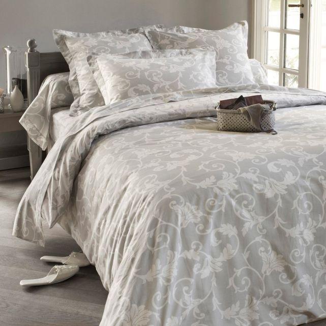 housse de couette imprim e baroque acanthe autre d coration pinterest housse de couette. Black Bedroom Furniture Sets. Home Design Ideas