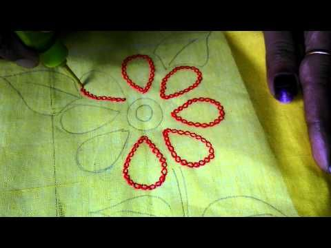Hobby Ideas Chain Stitching With Liquid Embroidery My Hobby