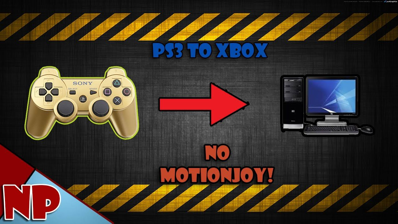 how to use ps3 controller on windows 8