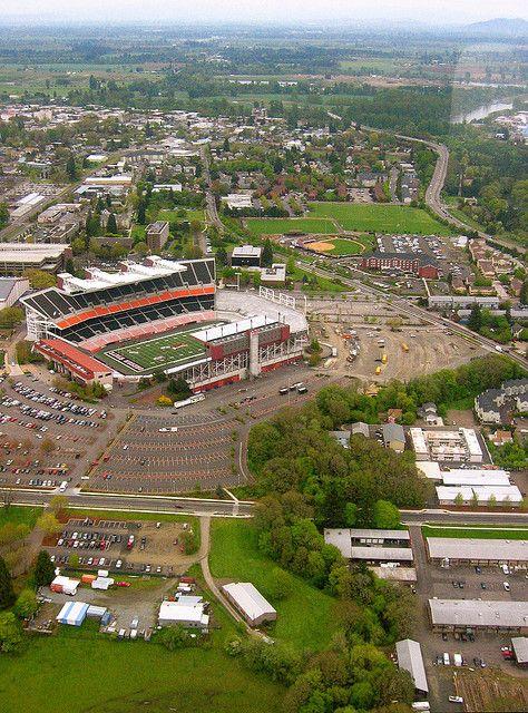 Reser Stadium Oregon Scenery Stadium Baseball Park