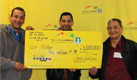 Meet a recent New Jersey Lottery Powerball millionaire, Victor