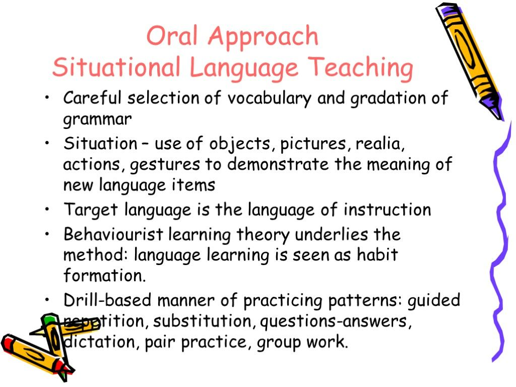 Image Result For Situational Language Teaching Classroom