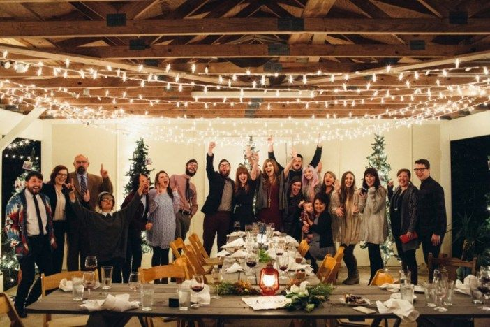 Amazing Christmas-Themed Marriage Proposal Surprise engagement - surprise engagement party