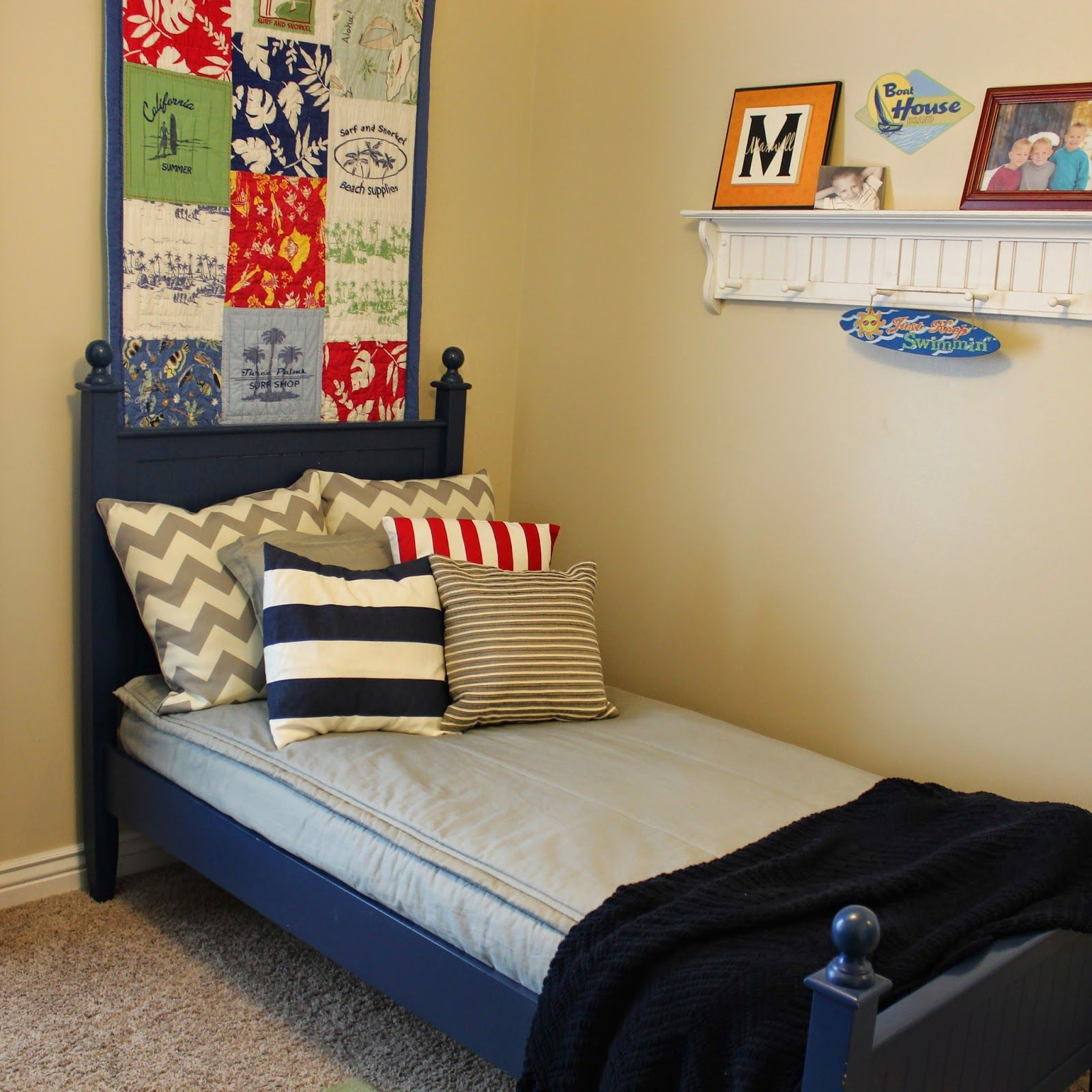beddy's (bed.ease) zipper bedding. perfect for bunk beds!!! www