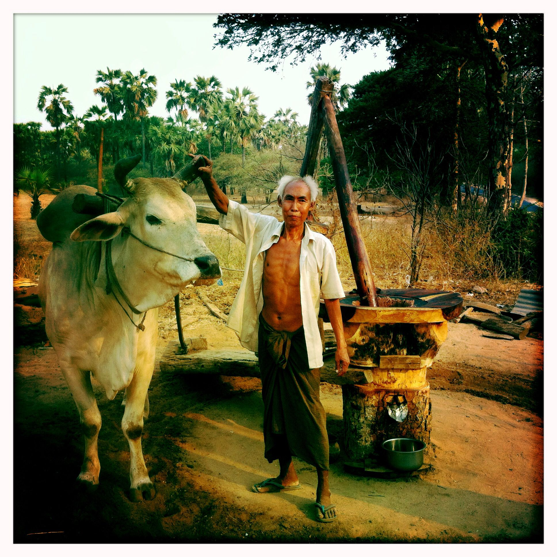 Bauer in #Burma #Myanmar www.reiseinspiration.ch -Ideen die beflügeln!