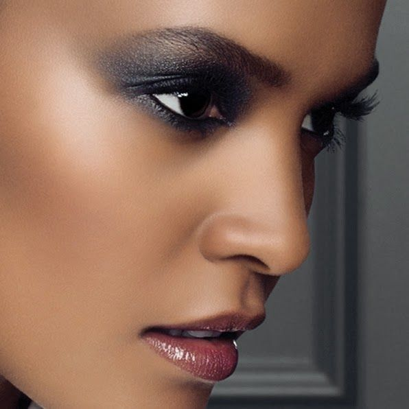 Cute Black Smokey Eye Makeup For Dark Skin  Hairstyles -8574