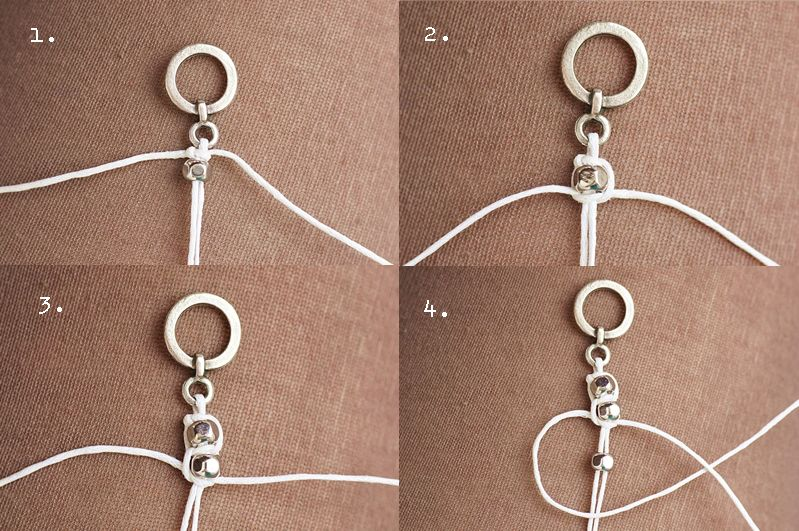 Photo of Make DIY bracelets yourself: braid, made of leather, with pearls – nicest things