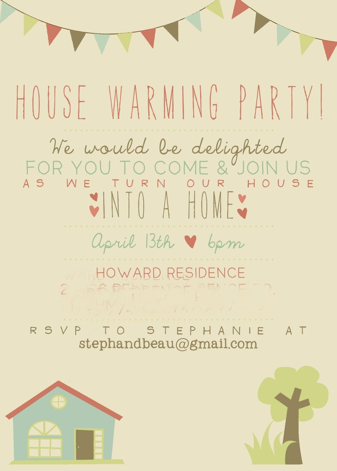 Housewarming party invitation party and shower ideas for Housewarming shower ideas