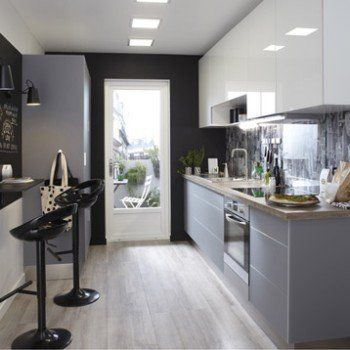Meuble De Cuisine Blanc Delinia Everest Leroy Merlin Kitchen