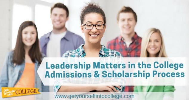 College admission essay on leadership