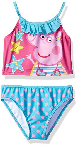 5a8453eb9b Peppa Pig Girls Swimwear Swimsuit (Toddler Little Kid)