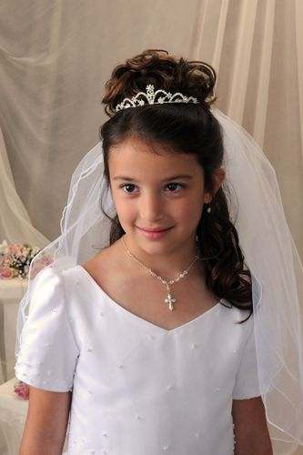 holy communion hair styles communion tiaras gabrielle this and that 8806