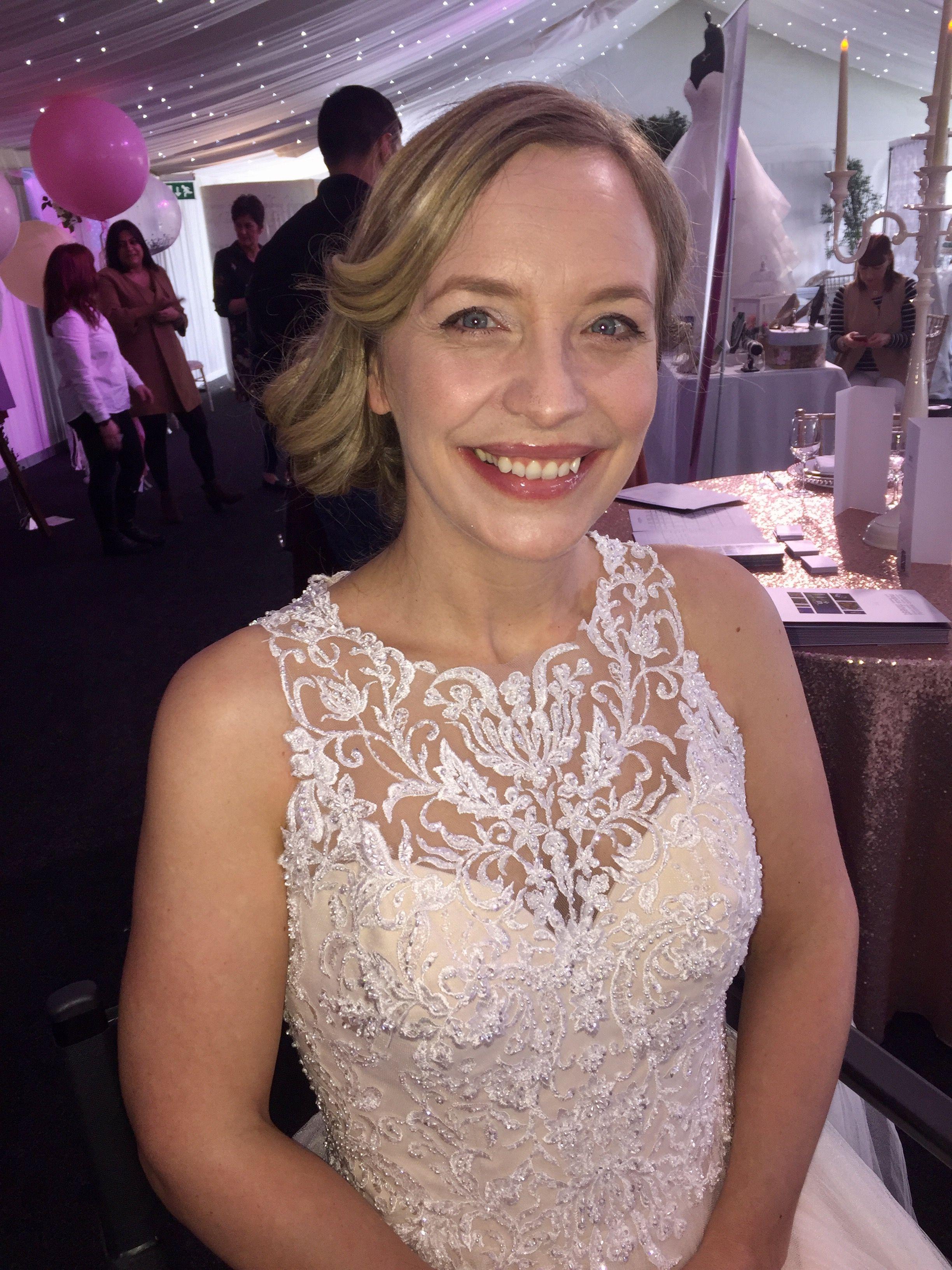 Natural highlighting bridal makeup wedding hair bridal hair